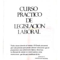 Brito, J. (1985) Capítulo I Evolución histórica del derecho del trabajo. Curso práctico de legislación laboral.pdf