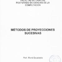Material de Instrucción sobre Mét de Proy Sucesivas (1997).pdf